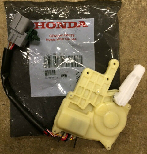 genuine oem honda odyssey driver rear sliding door lock