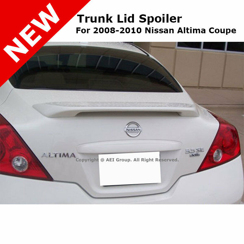 For Nissan Altima Coupe 08 Trunk Spoiler Rear Painted Code Red A20
