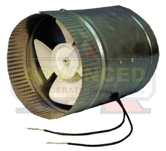 Hot Air Duct Fans : Supco db duct booster for hot cold forced air system