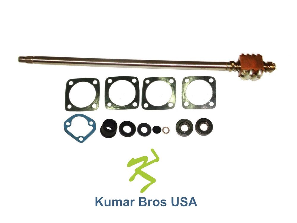 Kubota Steering Box : New kubota tractor steering shaft repair kit b