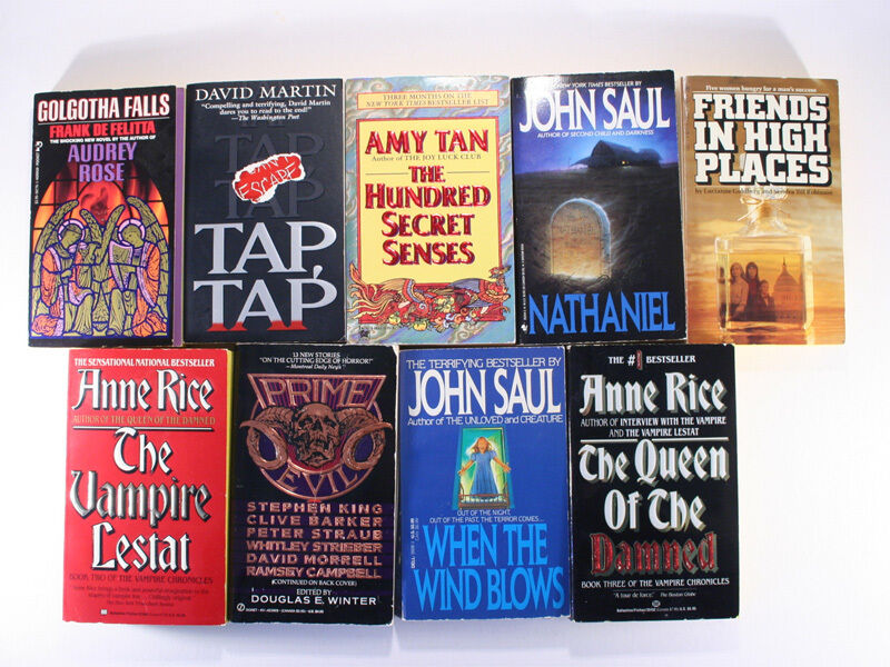 Lot of 9 Tami Hoag Novels: Sarah's Sin/Still Waters/Ashes to Ashes/Cry Wolf+more