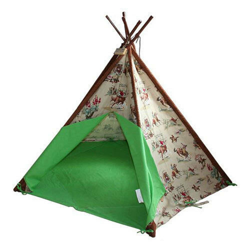 COWBOY WIGWAM. NEW TOBS KIDS, CHILDRENS TEEPEE, INDOOR OR ...
