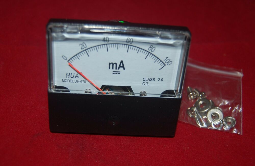 dc amp meter hook up 100 amp digital dc meter in gang box with shunt prewired and mounted to a galvanized steel board hook up four wires and you are ready to go.