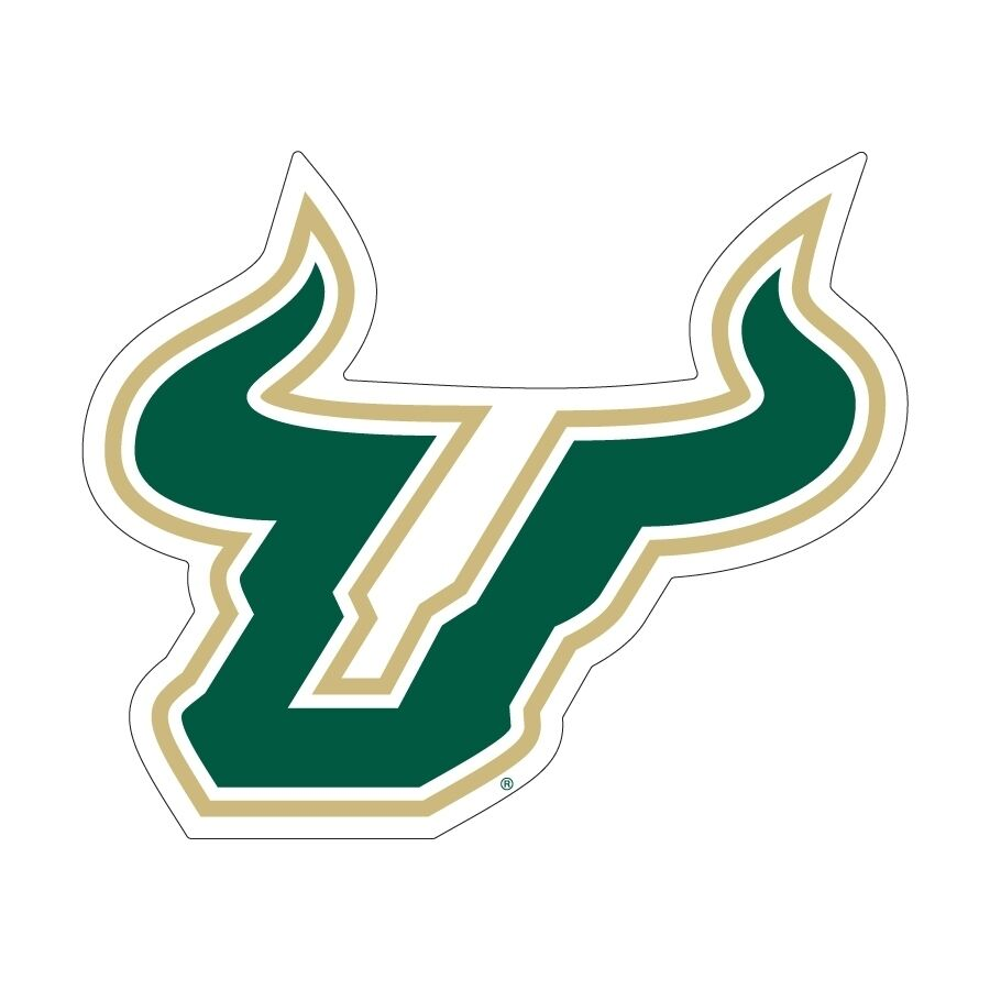 usf university of south florida bulls super size logo usf logos that can be embroidery usf logistics chicago il