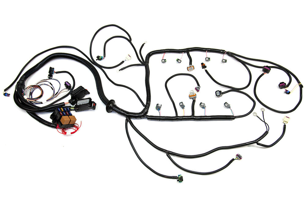 2010 2015 l99  6 2l  psi standalone wiring harness w  t56 ebay s10 ls swap wiring harness ls swap wiring harness modification