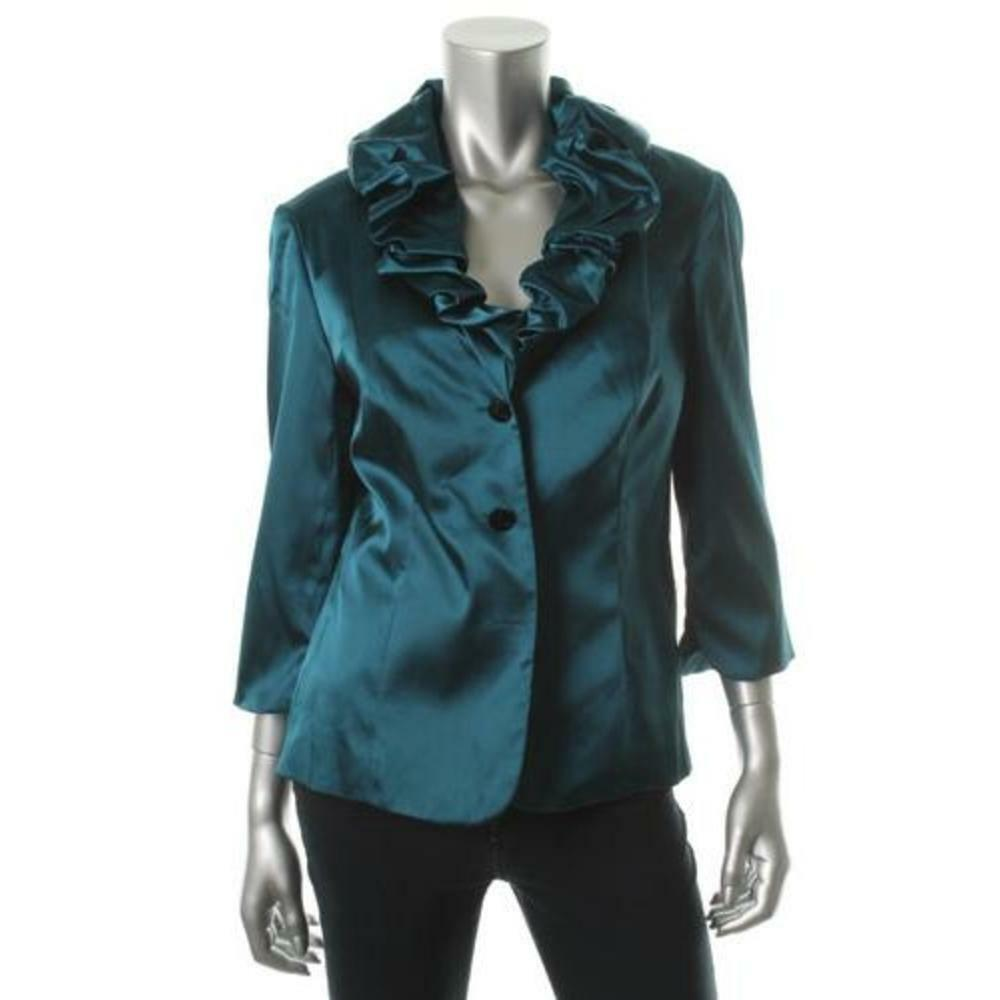 Green Charmeuse Blouse 32