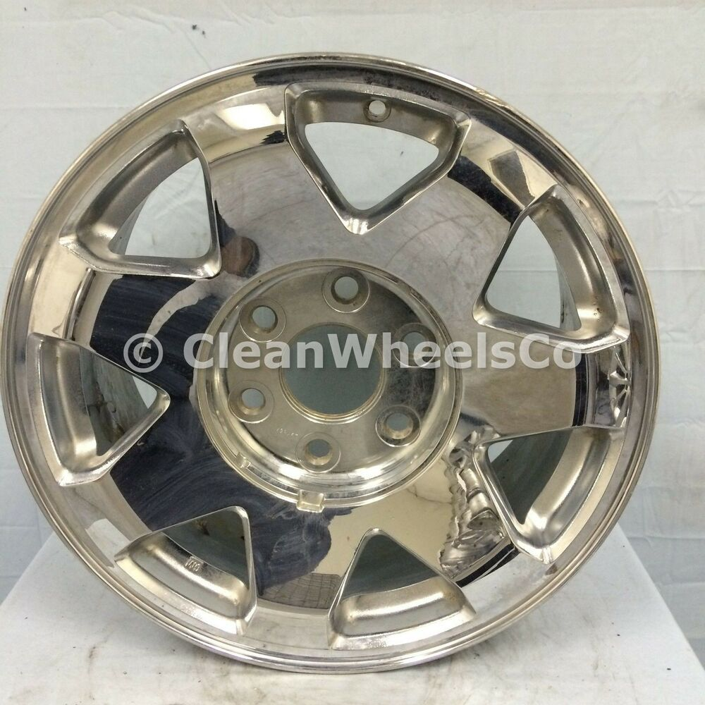 Used Cadillac Escalade Parts For Sale: 106A Used Aluminum Wheel - 02-06 Cadillac Escalade (ESV/EXT),17x7.5