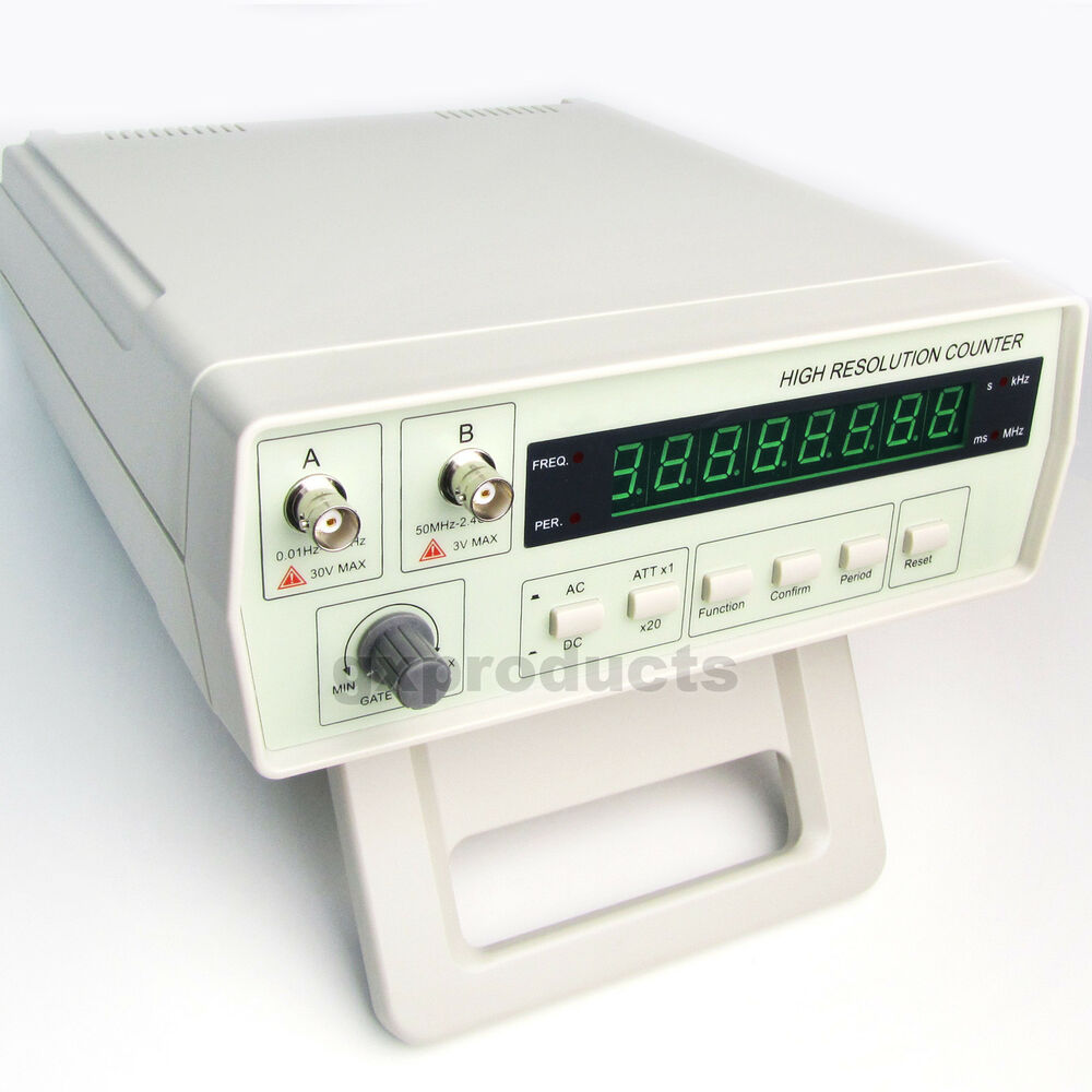 Photo Eye Frequency Counter : Vc precision radio frequency counter rf meter hz