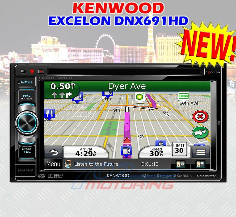 kenwood excelon dnx691hd new 2014 model new 2014 model. Black Bedroom Furniture Sets. Home Design Ideas