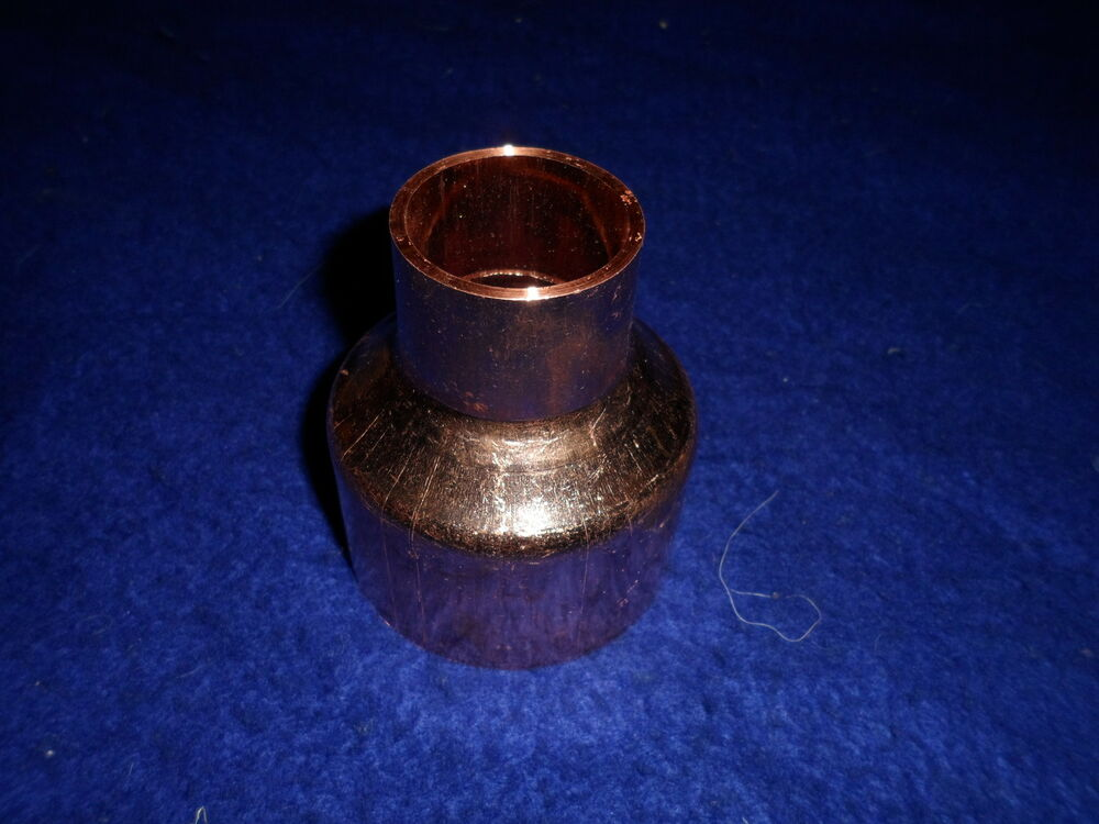 Quot copper reducer coupling bell fits