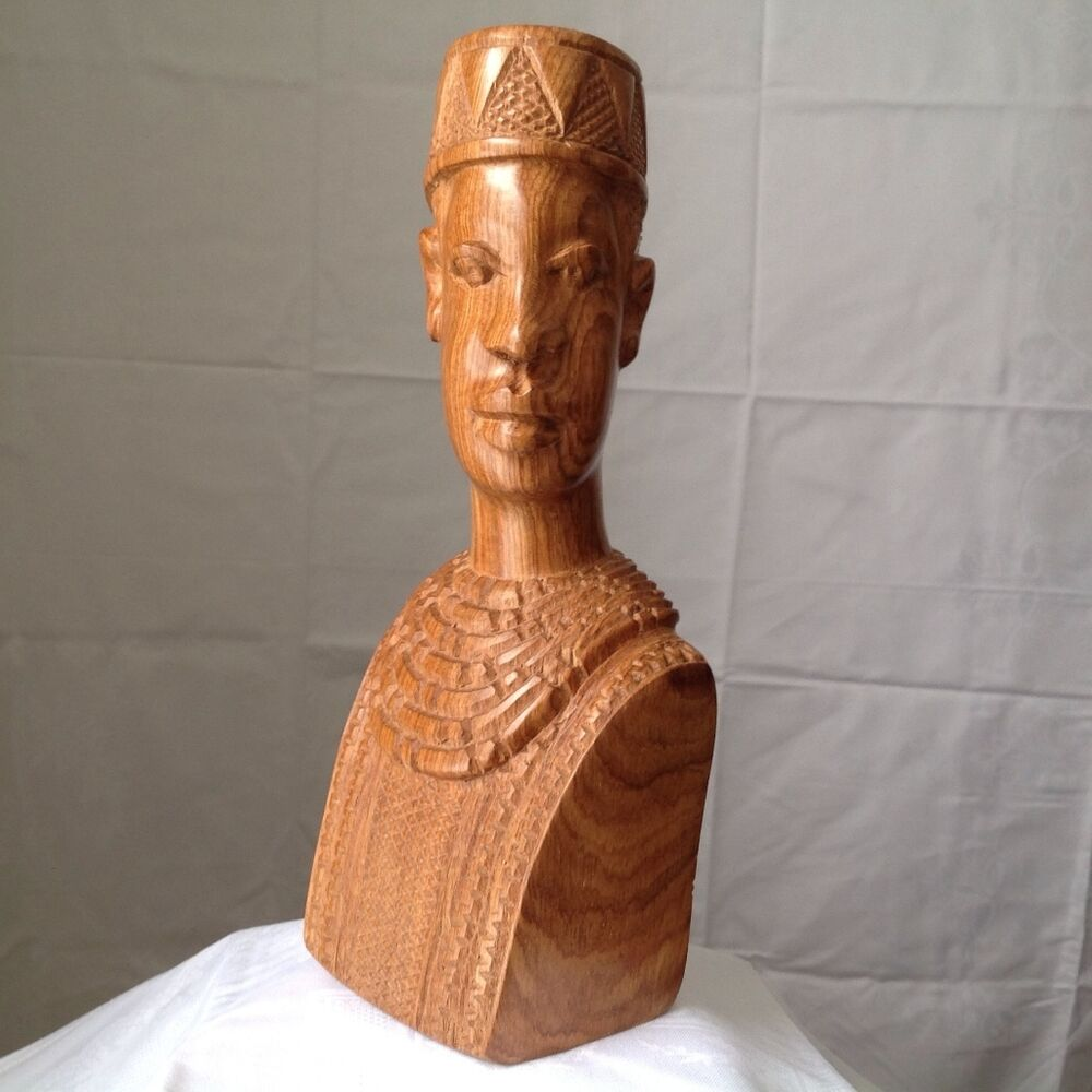 African art wood carvings ebay