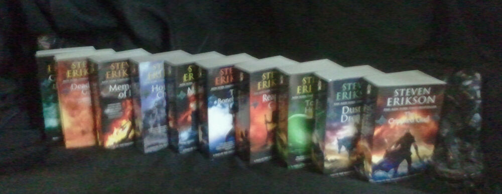 The fallen book of the complete malazan