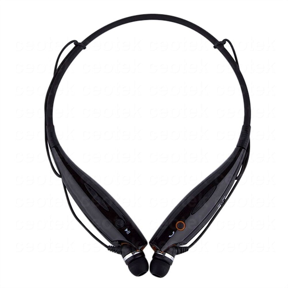 wireless bluetooth handfree stereo headset headphone sport. Black Bedroom Furniture Sets. Home Design Ideas