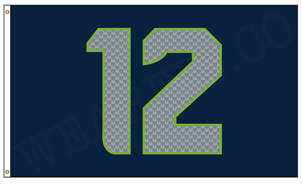 Seattle Seahawks | 3x5 12th Man Outdoor Flag (Best Quality ...