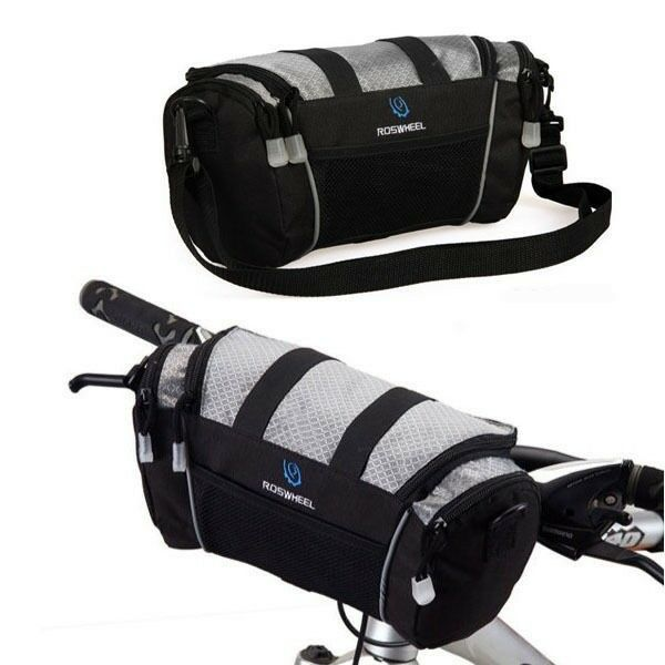 Cycling Bag Bike Bicycle Front Pannier Basket Handlebar