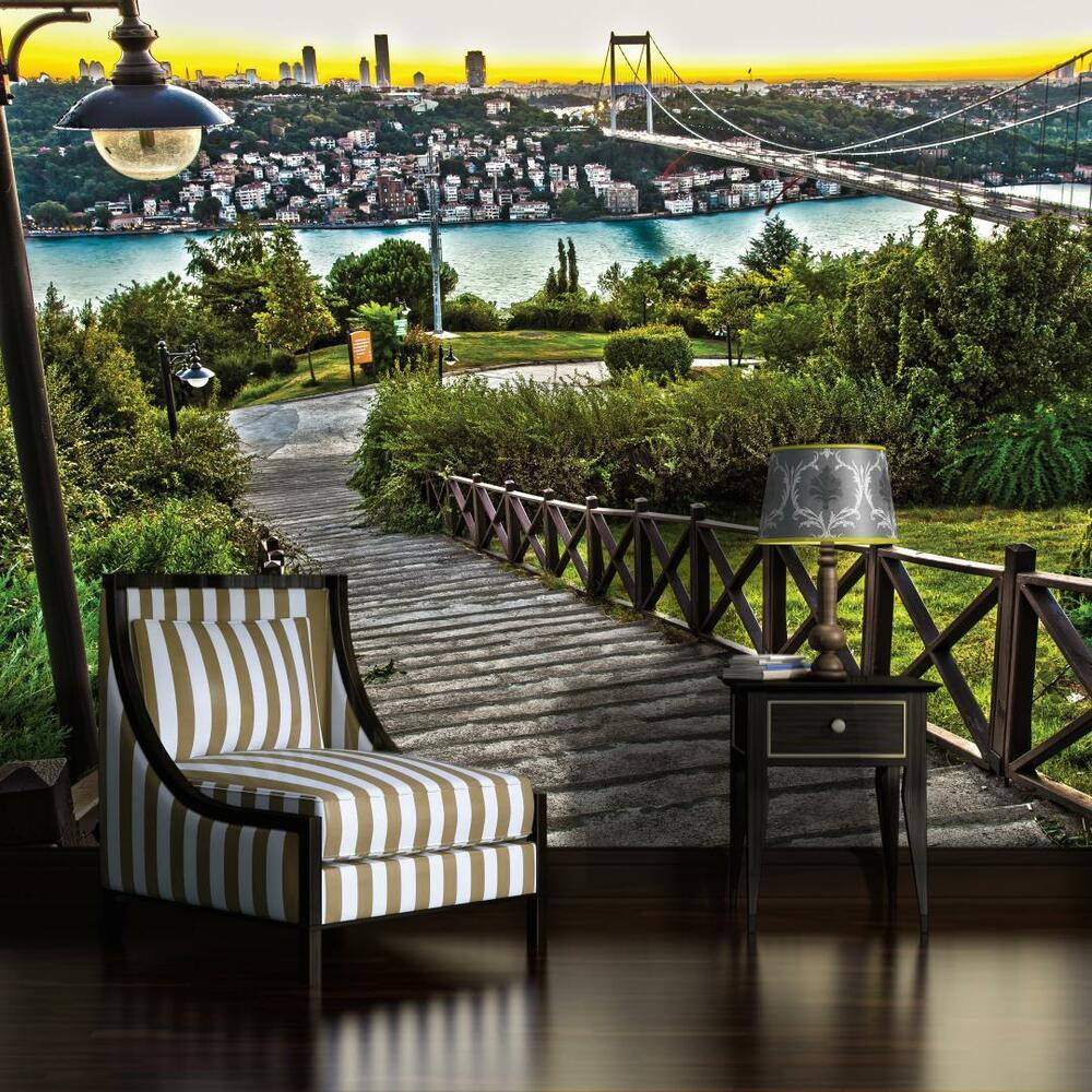 fototapete fototapeten tapete tapeten foto bosporus. Black Bedroom Furniture Sets. Home Design Ideas