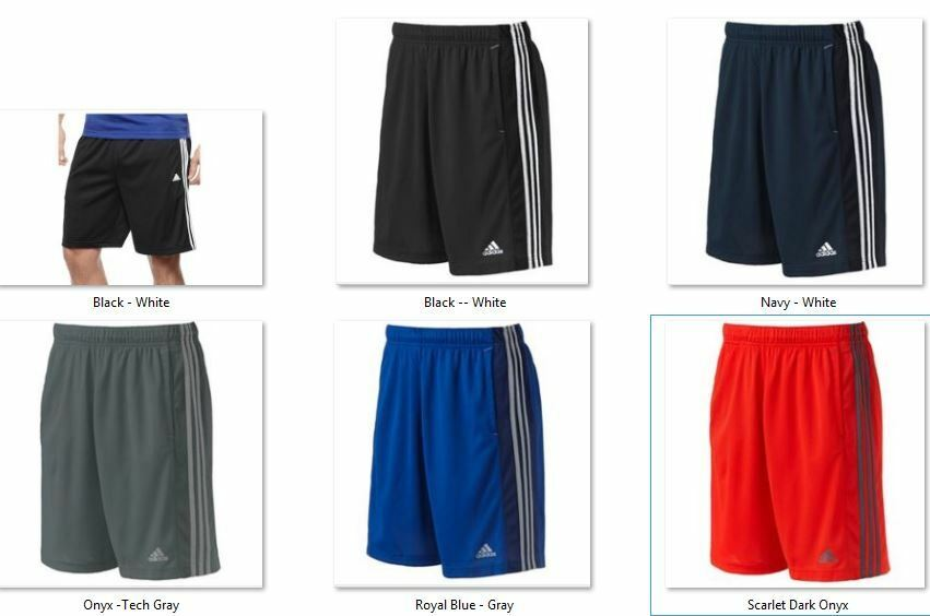 nwt men 39 s adidas climalite essentials shorts tiro ultimate. Black Bedroom Furniture Sets. Home Design Ideas