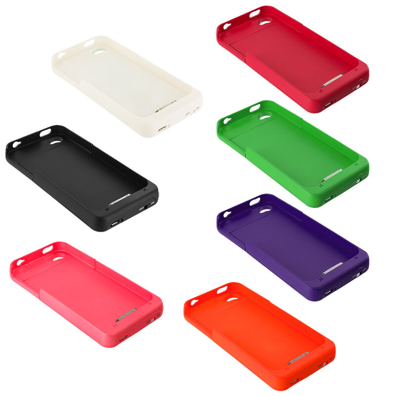 external iphone charger 2500mah color external backup battery charger cover 10563