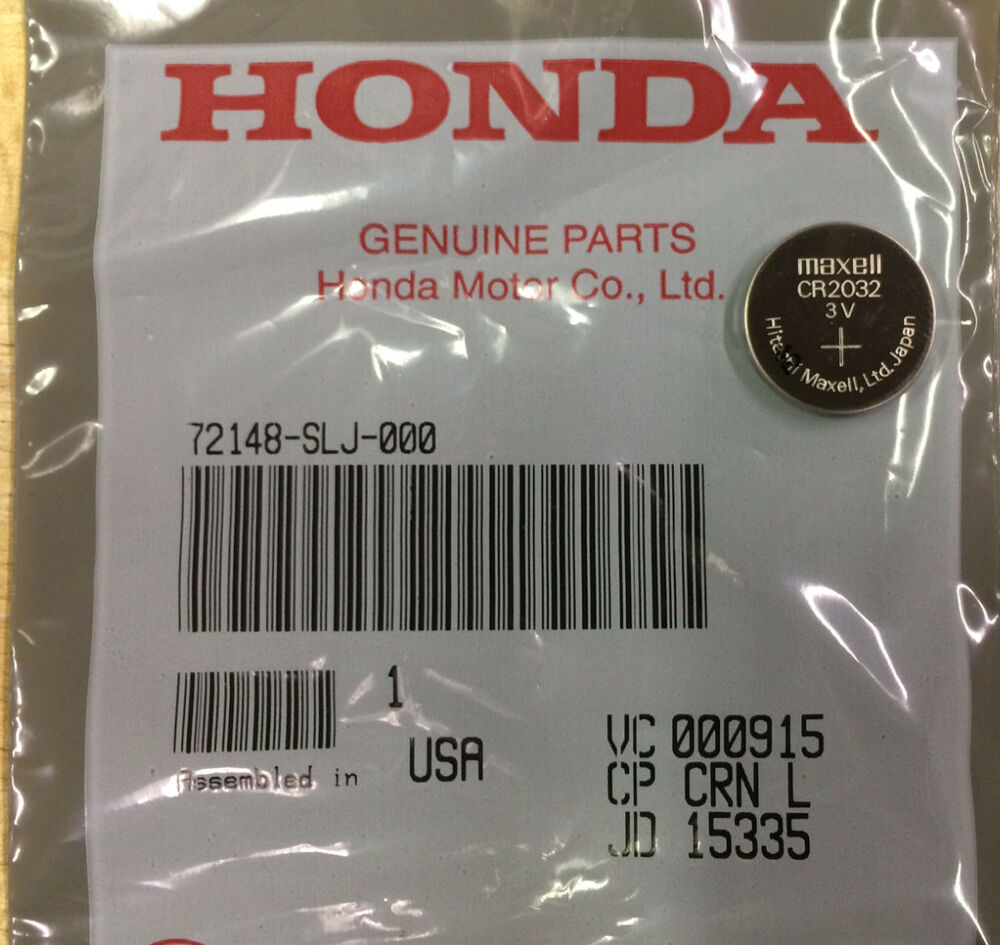 Genuine Oem Honda Smart Key Fob Battery Smart Cr2032 Ebay