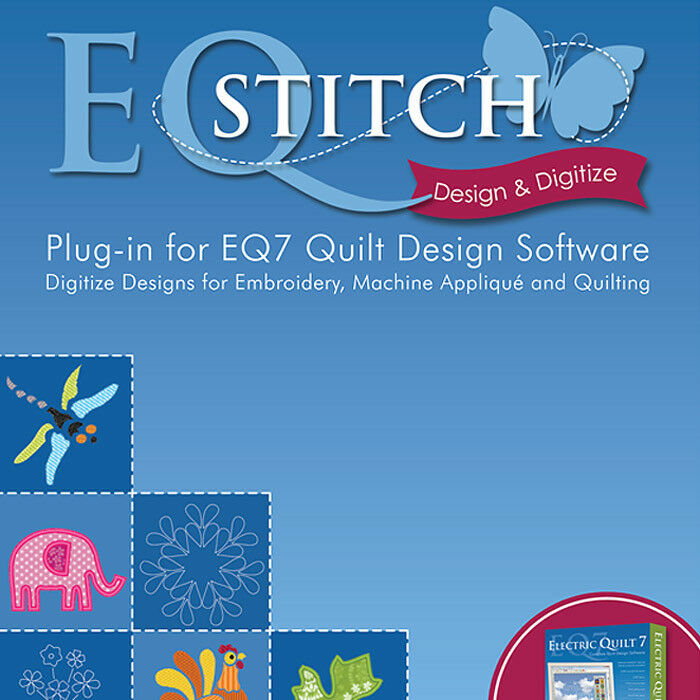 Eqstitch embroidery design software for eq plug in