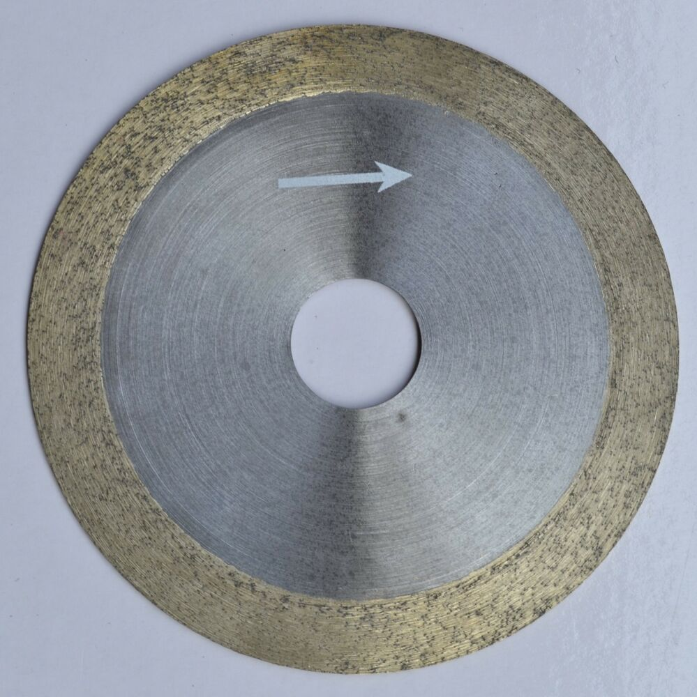 4 Quot 100mm X 20mm X 1mm Diamond Continuous Rim Saw Blade