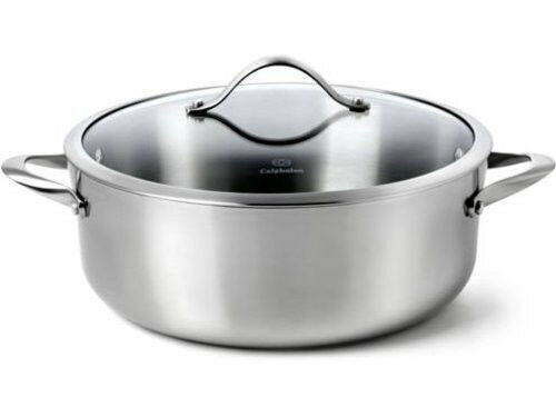 Calphalon Contemporary Stainless Steel 3 Qt Chef S