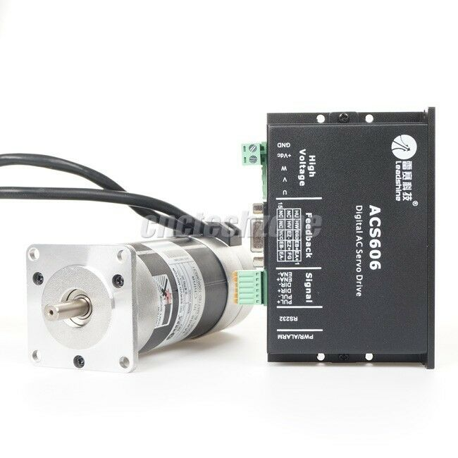leadshine cnc dc servo kit servo driver acs606 180w