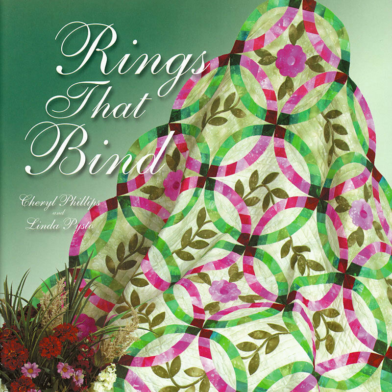 RINGS THAT BIND Cheryl Phillips NEW BOOK + TEMPLATE Double