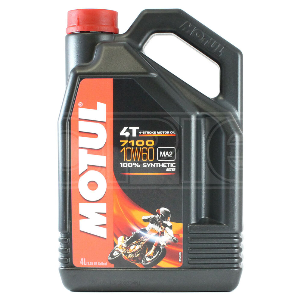 motul 7100 4t 10w 60 motorcycle engine oil fully synthetic