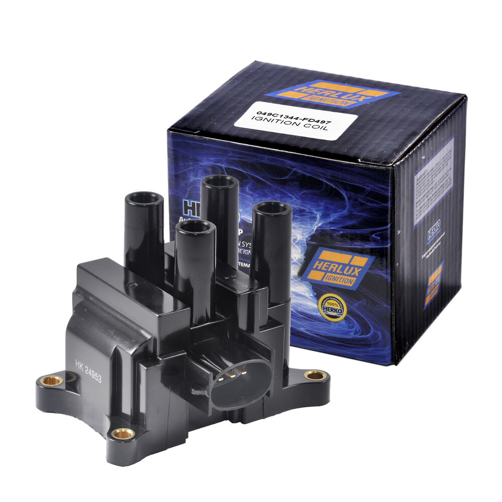 New Herko B049 Ignition Coil For Ford Mazda Mercury L4 2
