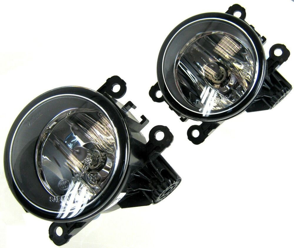 Pair Of Clear Front Indicator Lights For Land Rover: PAIR Of Front Bumper Fog Lamps Lights For Range Rover L322