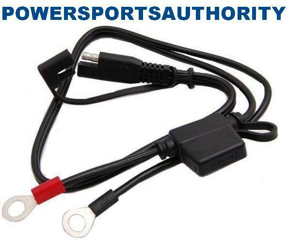 connect battery tender harness charger snap cord wire also fits schumacher ebay
