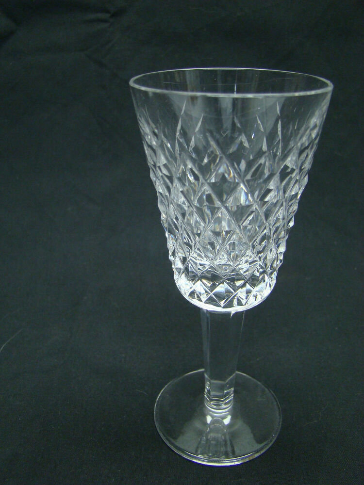 Waterford Alana Sherry Wine Glasses 5 1 8in Long Stem