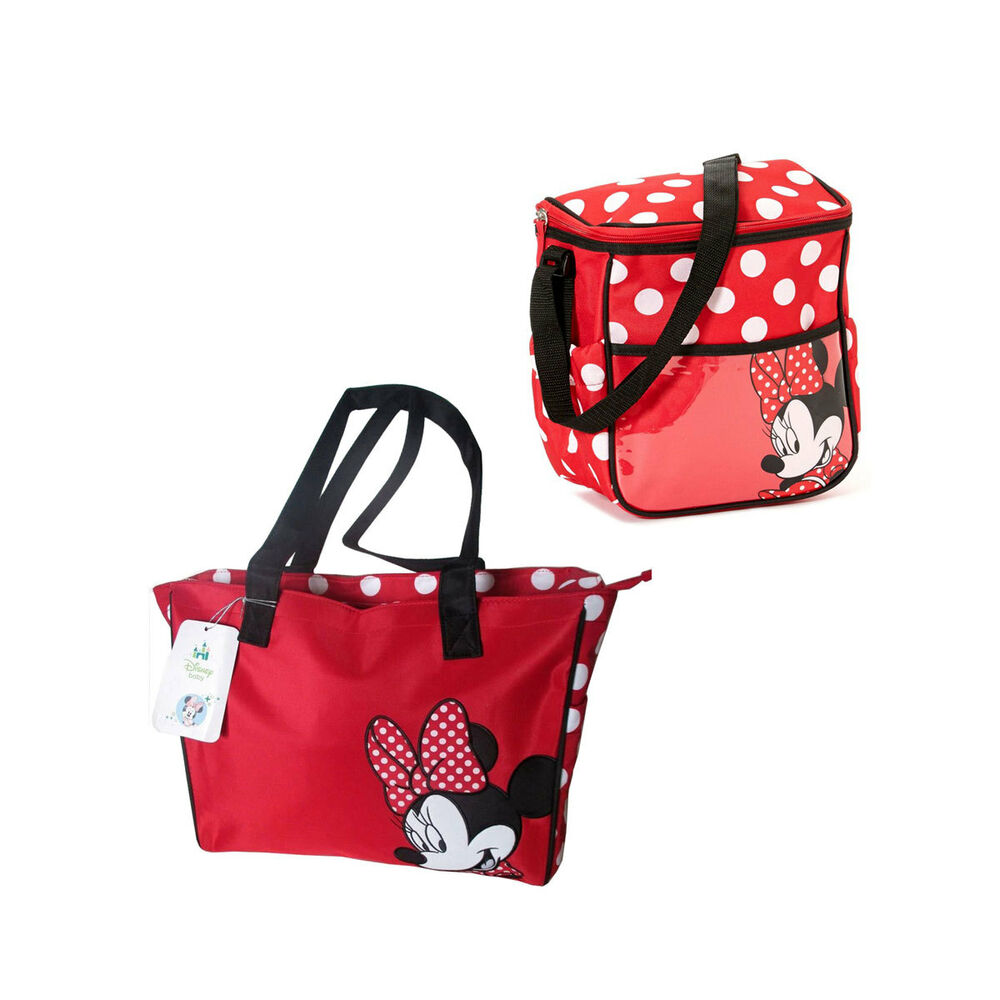 Baby Gift Bags Uk : Disney minnie mouse gift set baby polka dots diaper bag