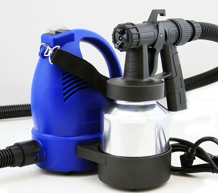 Electric Easy Paint Spray Gun Painter Hvlp Zoom Through House Painting Jobs New Ebay
