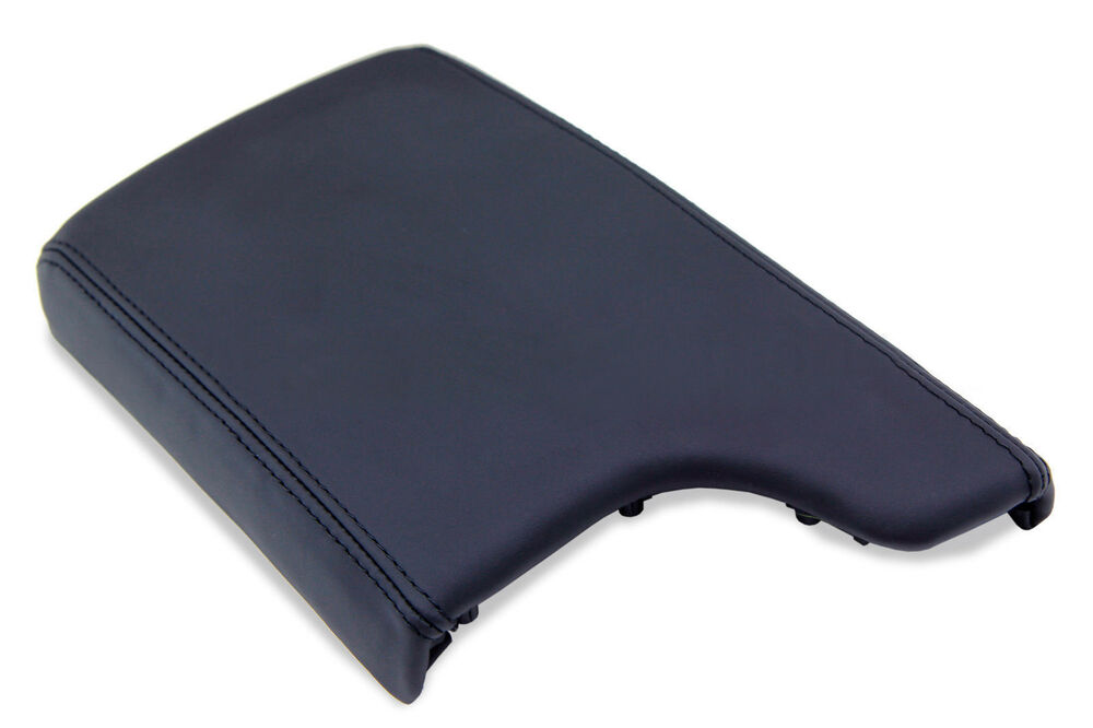 armrest center console leather cover for pontiac grand prix 04 08 black ebay. Black Bedroom Furniture Sets. Home Design Ideas