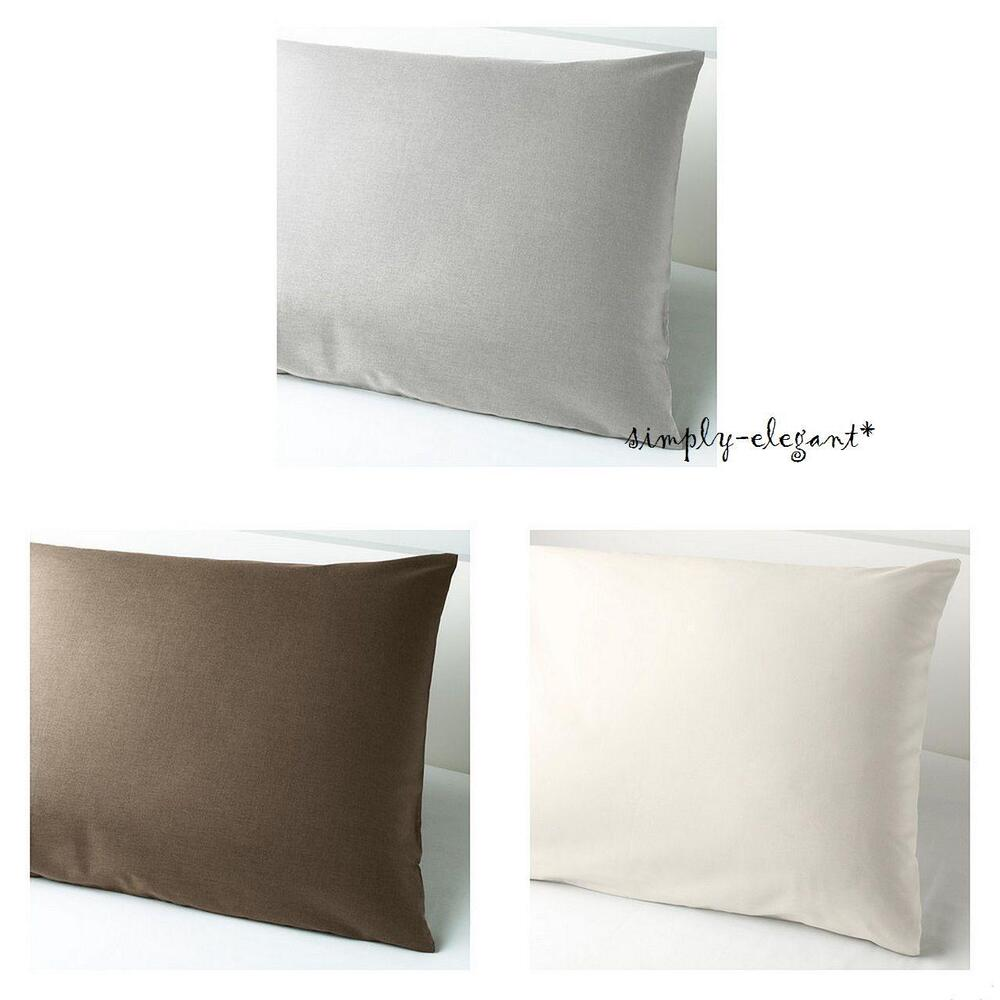 ikea pillowcase s mnig euro pillow sham 26 x 26 somnig brown white pink gray ebay. Black Bedroom Furniture Sets. Home Design Ideas