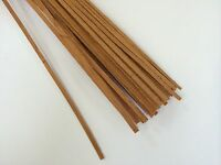 Mahogany Model Ships Planking Strips - 50 x 1 Metre Lengths - Choice Of Sizes