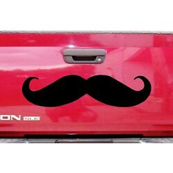 Mustache for Car ~ Auto, Wall or Window Decal