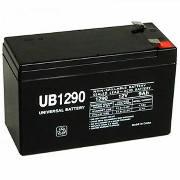 new ub1290 40748 12v 9ah battery 4 pe12v9 px12090 cp1290. Black Bedroom Furniture Sets. Home Design Ideas