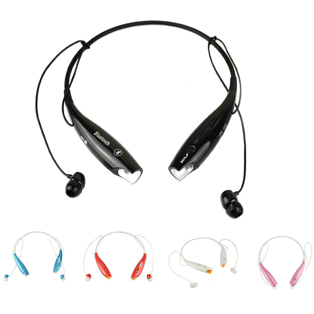 Bluetooth Headset K10 Wireless Earpiece Headphones With: Wireless Bluetooth HandFree Sport Stereo Headset Headphone