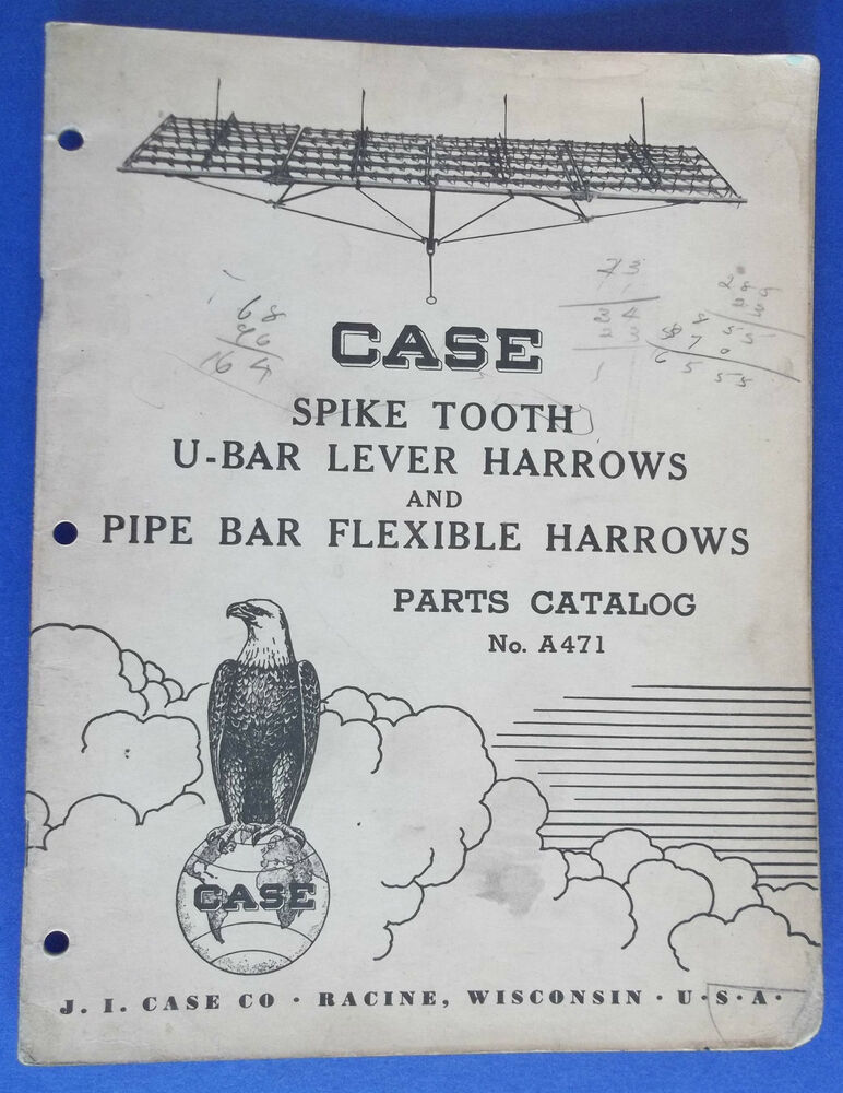 Spike Tooth Harrow Parts : Case spike tooth u bar lever harrows pipe flexible