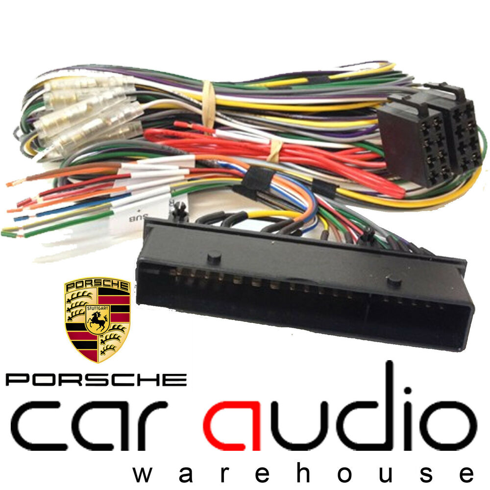Pc porsche pcm system car stereo radio iso