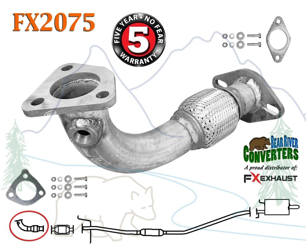 FX2075 Direct Fit Exhaust Flange Repair Flex Pipe