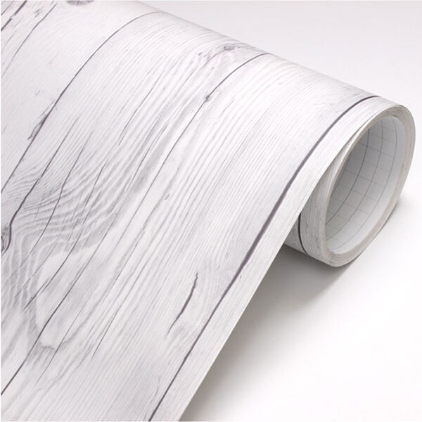 3m vintage white wood panel sheet self adhesive peel for White self adhesive wallpaper