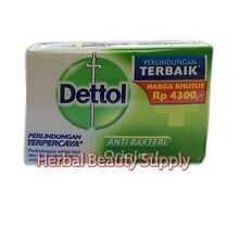 3 x 110g Dettol Soap Bar Skin Care Fight Germs Anti Bacterial Cleanses Fair