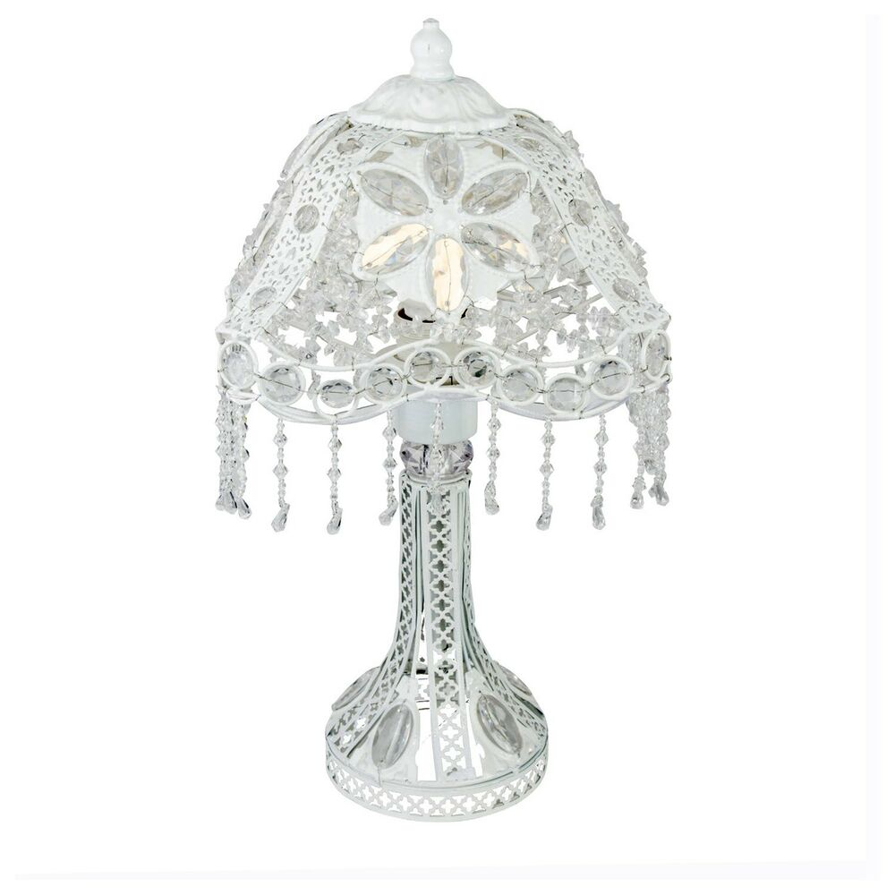 table lamp stunning moroccan style jeweled cutwork flower. Black Bedroom Furniture Sets. Home Design Ideas
