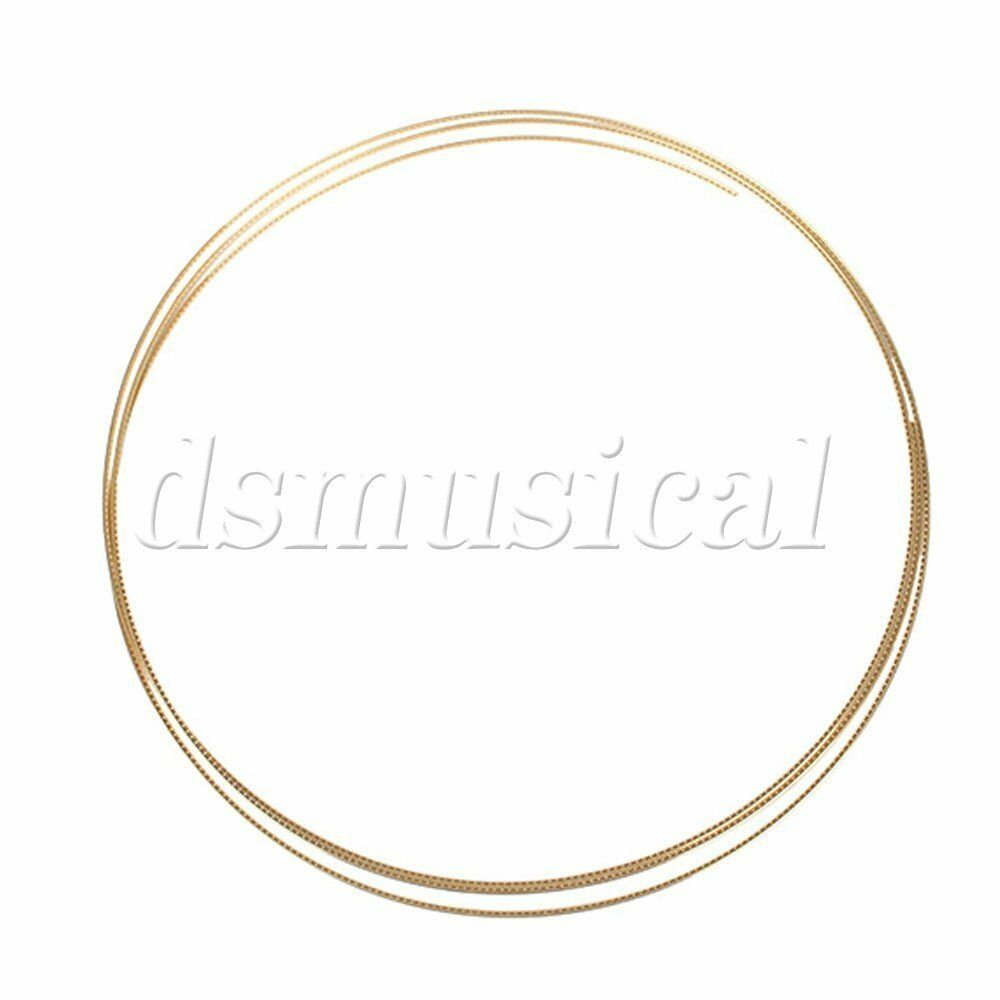 brass alloys acoustic guitar fret wire fretwire gold new ebay. Black Bedroom Furniture Sets. Home Design Ideas