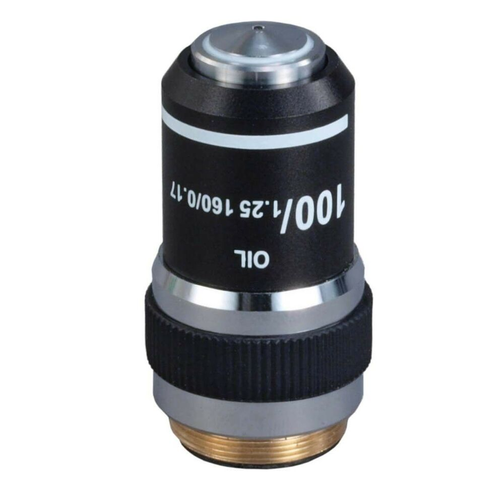 100X/1.25 DIN Achromatic Objective Lens For Compound