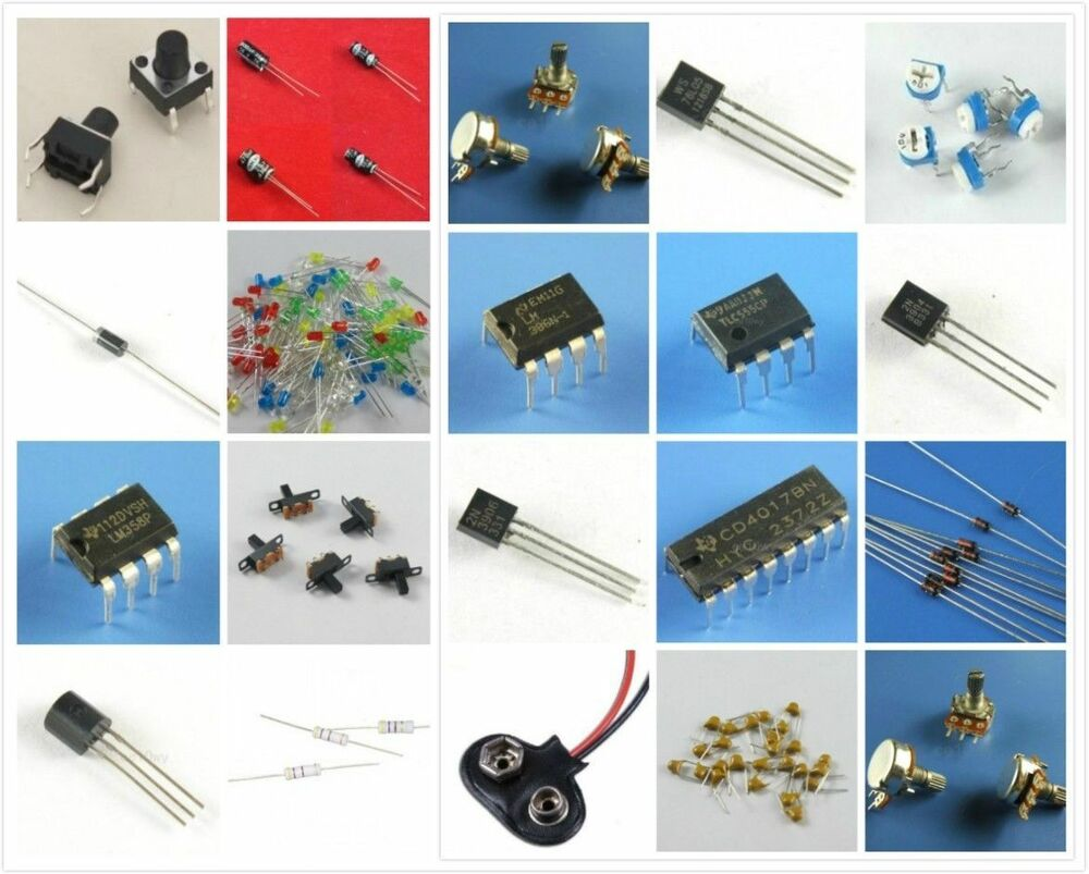 Electronic Fans Kit Starter Learn Kits Breadboard Led Auto Whizzkits Electronics Beginners Project Builders Capacitor